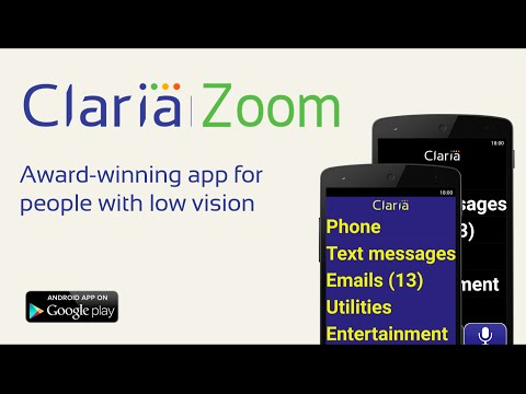 ClariaZoom - Low vision app 2 4 3 Download APK for Android
