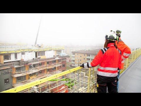 Renova Miljö tar hand om återvinningen på Svanenmärkt byggprojekt