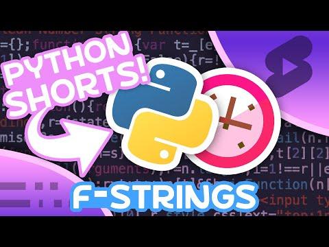 f-Strings in Python - String Formatting