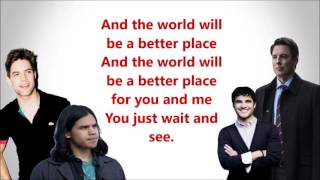 The Flash - Put A Little Love In Your Heart (LYRIC)