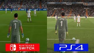 Fifa 18 | Switch VS PS4 | GRAPHICS COMPARISON | Comparativa