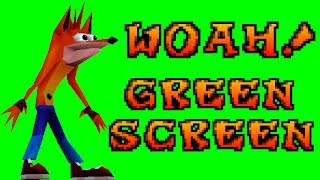 Woah! (Original) Green Screen Video | Crash Bandicoot™