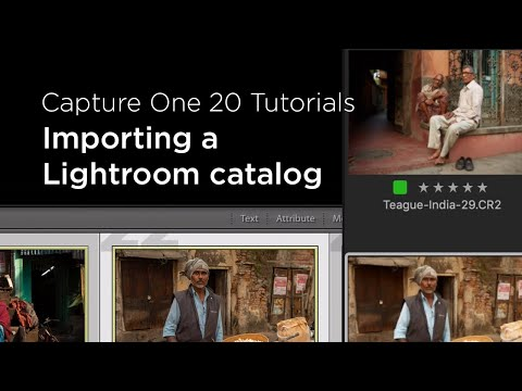 Capture One 20 Tutorials | Importing a Lightroom catalog