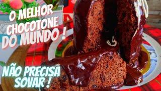 CHOCOTONE TRUFADO DE LIQUIDIFICADOR - NÃO PRECISA SOVAR !!