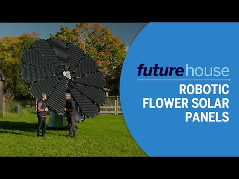 Future House | Robotic Flower Solar Panels