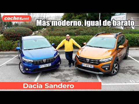 Dacia SANDERO 2021: Moderno y Barato | Primera Prueba / Review en español | coches.net