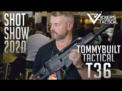 SHOT SHOW 2020 - T36 TommyBuilt Tactical