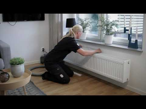 Rengöring av tilluftsdon (ventilation)