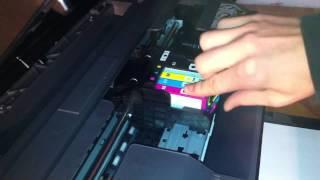 Changer une cartouche d'imprimante - Recharger imprimante HP