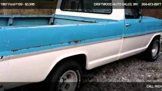 1967 Ford F100  - for sale in BUCKHANNON, WV 26201