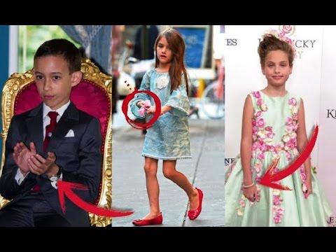 Cei mai bogati copii din lume