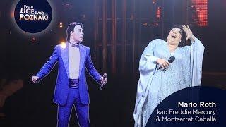 Mario Roth kao Freddie Mercury & Montserrat Caballé: Barcelona