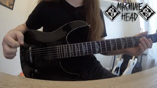 Machine Head - Is There Anybody Out There? Guitar cover (New song 2016!)