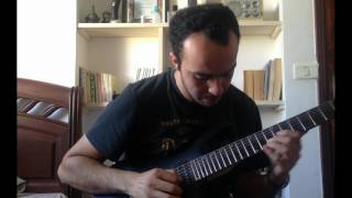 DragonForce - Through The Fire And Flames - Solo Cover
