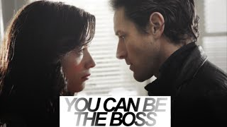 you can be the boss. (allison + peter)
