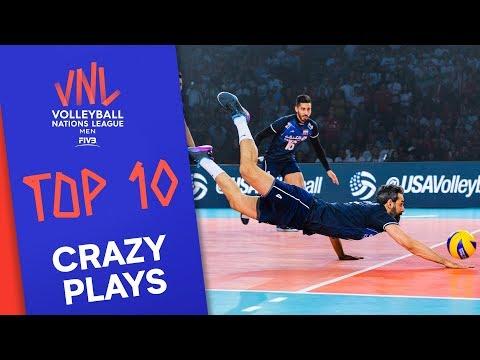 CRAZIEST Plays of Men's VNL 2019 Final Round!