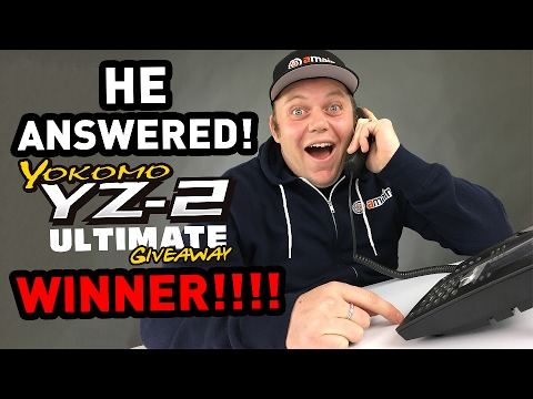 Calling the winner of the Yokomo YZ-2 Ultimate Giveaway