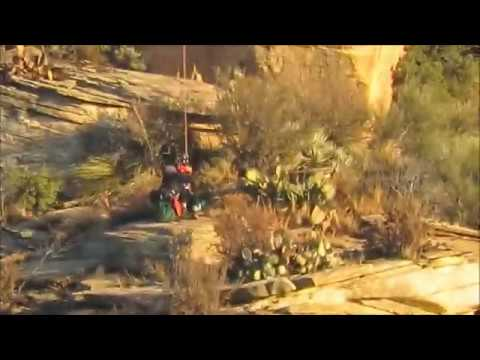 15 year old rescued by helicopter stuck on mountain in Sedona, Arizona