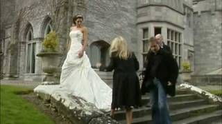 Irish Wedding Diary Bridal Photoshoot in Adare Manor with Lisa Canon on Xposé width=