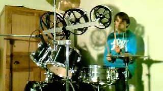 safri duo drum cover-lander