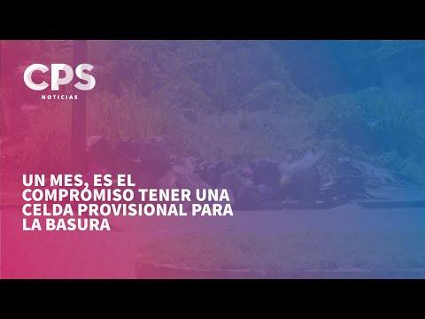 Un mes, es el compromiso tener una celda provisional para la basura | CPS Noticias Puerto Vallarta