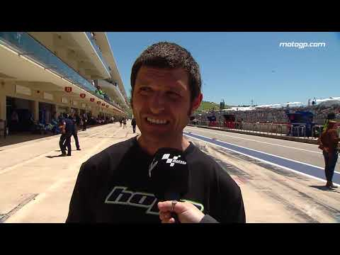 Guy Martin catches up with MotoGP? at the Grand Prix of the Americas
