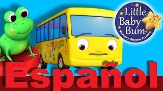 Diez autobuses | Parte 2 | Canciones infantiles | LittleBabyBum