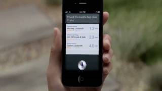 Apple iPhone 4S running Siri - Official TV Commercial