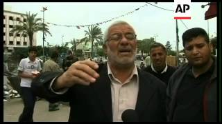 WRAP Iraq; Palestinian street reaction