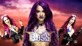 "Sasha Banks 6th and NEW WWE Theme Song - ""Sky's the Limit V2"" with Arena Effects"