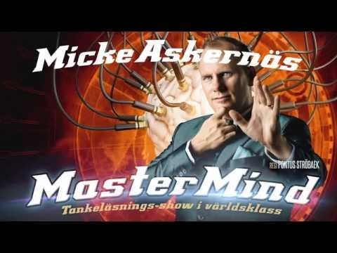 Micke Askernäs - MasterMind (Göta Lejon 5 november)