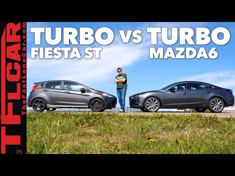 2018 Mazda 6 Turbo: Is It Faster Than a Ford Fiesta ST? Ep.1