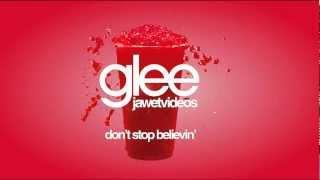 Glee Cast - Don't Stop Believin' (karaoke version)