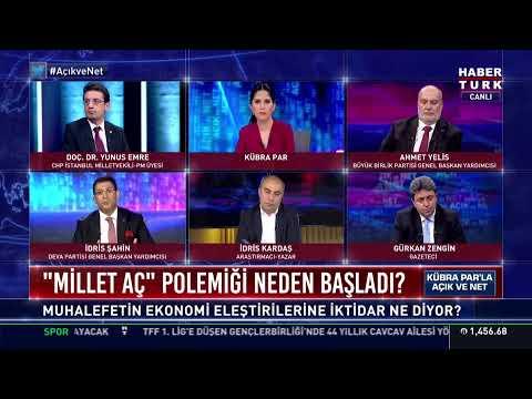 """Açık ve Net'te İmamoğlu'nun """"Erdoğan bana imreniyor"""" cümlesi konuşuluyor… #YAYINDA"""