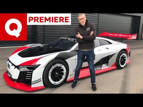 Audi e-tron Vision Gran Turismo: l'abbiamo guidata per davvero!   Quattroruote