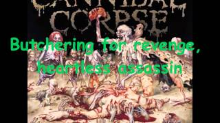 Cannibal Corpse - Savage Butchery Lyrics