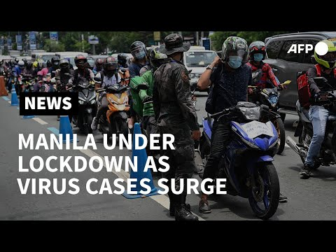 Philippines reimposes quarantine measures as virus infections soar | AFP