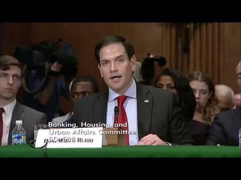 Rubio introduces Dr. Ben Carson at HUD confirmation hearing