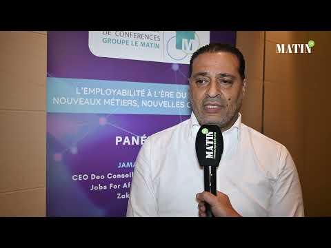 Video : Matinale sur l'employabilité à l'ère du digital : Déclaration de Hicham Zouanat, Président de la Commission sociale de la CGEM