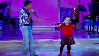 Jotta A & Milena -Sonda-me, Usa-me - Dueto - Programa Raul Gil.mp4