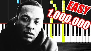 Dr. Dre - Still D.R.E. ft. Snoop Dogg-Piano tutorials