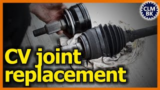 CV joint replacement on 2009 Chevy Suburban