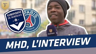 L'interview foot du rappeur MHD