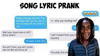 "YNW MELLY ""772 LOVE"" LYRIC TEXT PRANK ON THOT GONE WRONG!!!"