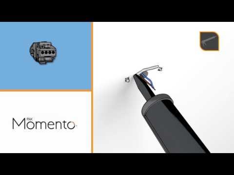 Pax WallFix™– det smarta kopplingshuset för Pax elektriska handdukstorkar