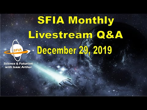 SFIA Monthly Livestream: December 29, 2019 - sci-fi