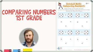 Comparing Numbers 1st Grade | Math Worksheets | Kids Academy