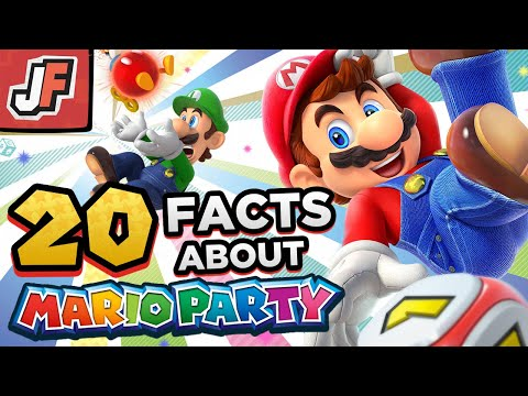 20 Random Mario Party Facts You NEVER Cared For!