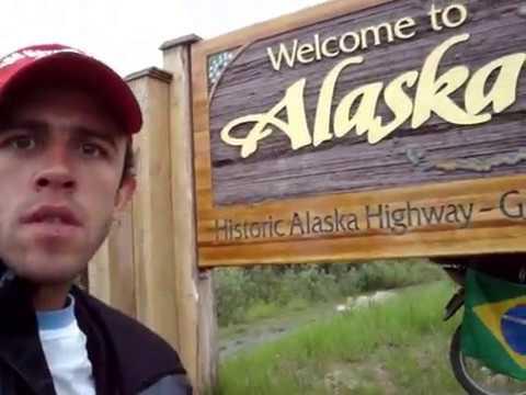 DIEGO GIACOMELI BRASIL – ALASKA / ALASCA  VIAGEM MOTO 150 CC  parte 2