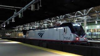 The Ringling Bros Circus Train On CSX & Amtrak